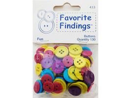 Blumenthal Lansing Co. Favorite Colorful Fun Buttons #433