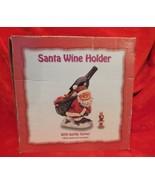 Santa Wine Holder with Bottle Topper - $19.59