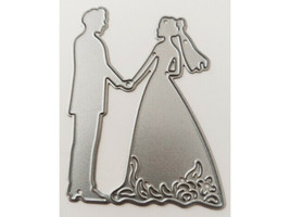 Bride and Groom Die, Great for Wedding Cards