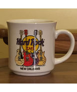 Hard Rock Cafe New Orleans Guitars Save The Planet Souvenir Coffee Cup M... - $5.92
