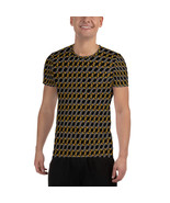 2020 Roman Numeral Luxury Pattern Fashion Men's Athletic T-shirt - $42.95+