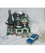 Department 56 Kissing Claus Lane Snow Village 1224 musical department boxed - $64.35