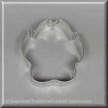 "3"" Dog Paw  Metal Cookie Cutter #NA8102 - $1.75"