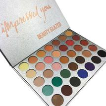 Chic 35 Color New Face Makeup Jacly Hill Eyeshadow Palette Shades Shimme... - $17.04