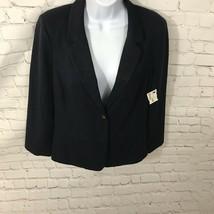 BDG  Blazer /coat Womens Navy Blue Size Medium -lined In EUC - $15.96