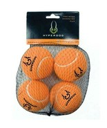 Hyper Dog 4-Pack Orange Green or Pink Mini Tennis Balls Fetch Dog Toy Ball - $11.95