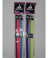 2 Packs Adidas Hairband No Slip Gel Grip Hairbands 6 Color Lot (R) - $19.79