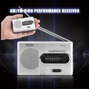 Primary image for Portable, Pocket-Size AM-FM Radio-Ideal for Emergencies, Private Listening