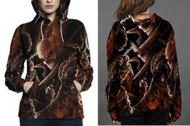 Johnny Blaze Ghost Rider Women's Hoodie - $44.80+