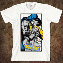 Batman and Robin 'Wow' Men's Women's T-shirt DC Comics Tee - $15.99+