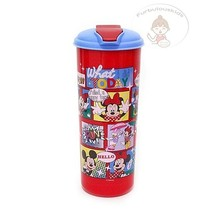 DISNEY MICKEY & FRIENDS PLASTIC DRINKING WATER CONTAINER/KIDS GIFT - $18.47