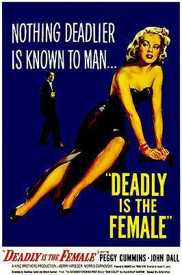 Primary image for Deadly Is The Female - 1950 - Movie Poster