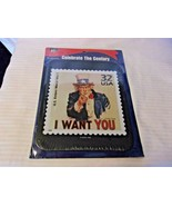 Celebrate The Century I Want You Uncle Sam USPS Mouse Pad from 1996 - $22.28