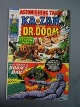 Astonishing Tales #1 VG-Fine Kazar & Dr. Doom Marvel Comics 1970 - $16.74