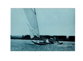 "PICTURE POSTCARD-PRESIDENT KENNEDY'S SAILBOAT,""VICTURA""  BK10 - $2.91"