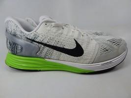 Nike Lunarglide 7 Size 13 M (D) EU 47.5 Men's Running Shoes White 747355-103