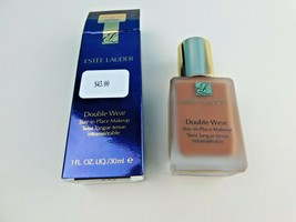 Estee Lauder Double Wear STAY-IN-PLACE Makeup 7N1 Deep Amber 1 Oz Boxed - $19.79