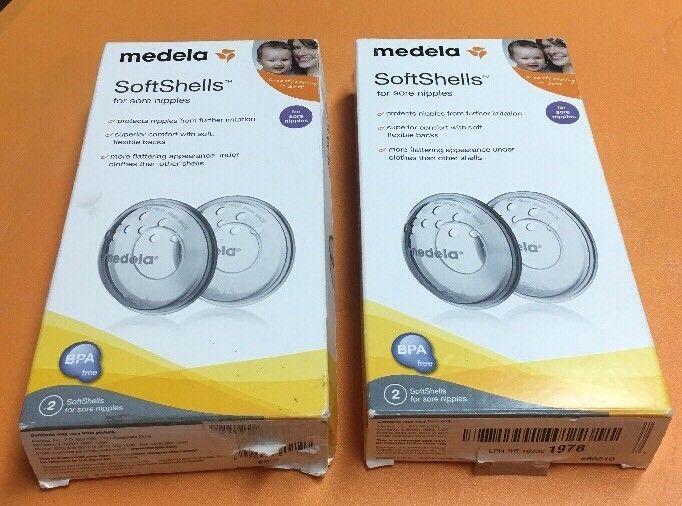 Lot Of Two, Medela Soft Shells For Sore Nipples - $16.82