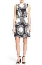 KENSIE Black/White Printed Sleeveless Fit n Flare Sheath Dress NWT XL - $13.13