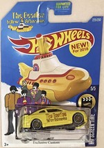 """Infinity G37 Hot Wheels The BEATLES """"YELLOW SUBMARINE"""" Real Rider Limite... - $93.85"""