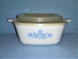 Corning Ware Cornflower Blue 2 3/4 cup Petite Pan w/Plastic Lid P-43-B - $9.99
