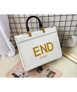 New Fashion Handbag Leather Tote for Women High Quality Shoulder Bags - £36.58 GBP