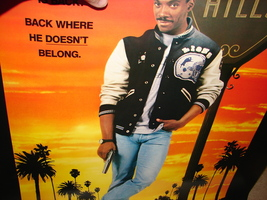 1987 BEVERLY HILLS COP II Eddie Murphy Original Movie POSTER 27x40 Vinta... - $29.99