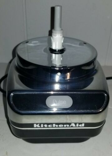 Primary image for KitchenAid Chef's Chopper Food Processor KFC3100CR2 Parts Black Base Motor