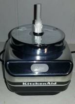 KitchenAid Chef's Chopper Food Processor KFC3100CR2 Parts Black Base Motor  - $15.00