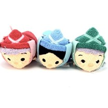 "Disney Sleeping Beauty Tsum Tsum Plush Fairy Godmothers 3 ½"" - $24.50"