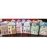 Lenox Spice Village Spice Jars Buildings Houses Vintage 1989 Porcelain Y... - $8.01 CAD