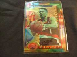 1993-94 Topps Finest  #195 Rod Strickland -Portland Trailblazers- - $3.12