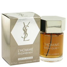 L'homme L'Intense by Yves Saint Laurent 3.3 oz EDP Spray for Men New in Box - $106.77