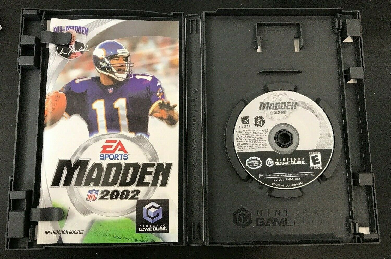 Madden NFL 2002 (Nintendo GameCube, 2001)  Complete