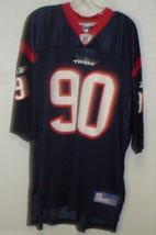 NEW NFL HOUSTON TEXANS MARIO WILLIAMS #90 HOME COLORS REEBOK JERSEY ADULT L - €34,57 EUR