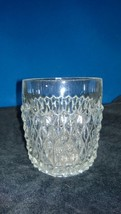Indiana Glass Diamond Point Clear Old Fashion Glass - $5.25