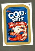 "2015 Wacky Packages Series 1 Gold Border ""COP~TARTS"" #35 Sticker Card - $9.50"