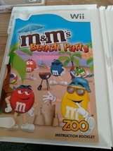 Nintendo Wii M&M's Beach Party ~ COMPLETE image 2