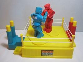 Mattel Rock'em Sock'em Robots Good Working Condition No Box 2014 Repro - $8.86