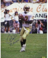 Charlie Ward signed Florida State Seminoles 16X20 Photo 93 Heisman - $43.95