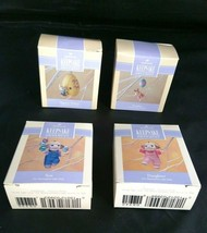 Lot of 4 Easter Hallmark Keepsake Ornaments Eggspert Painter Son Daughte... - $28.05
