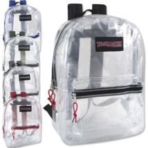Wholesale Clear Trailmaker Backpack Case of 24 - $224.30 CAD