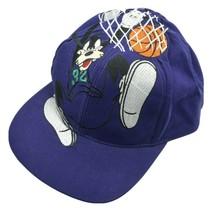 Vintage Walt Disney Goofys Hat Co Goofy Basketball Dunk Hoops Snapback Cap Hat - $59.99