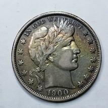 1900 Silver Barber Half Dollar Coin Lot A 193