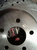 Power Stop ar8146xl xr Evolution Drilled & Slotted Performance Rear Rotors, Pair image 3