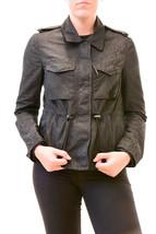 Diesel Women's Authentic G-Cora Long Sleeve Jacket Black Size M RRP £270... - $246.56