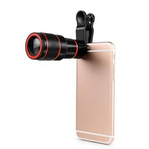 Smartphone Camera Lens Telescope With Clip 8X Zoom For Iphone Samsung An... - $15.87