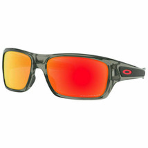 Oakley Turbine OO9263 1063 Protection Sunglasses Gray Ink Ruby Iridium P... - $123.56