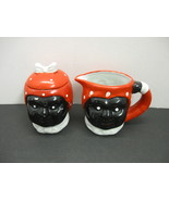 Black Americana Aunt Jemima Creamer and Covered Sugar Set - $20.00
