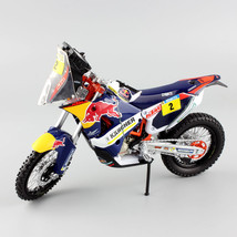 1:12 KTM SXF 450 Rally 2014 Red Bull No.2 Enduro Motorcyckle Dirt Bike T... - $44.54